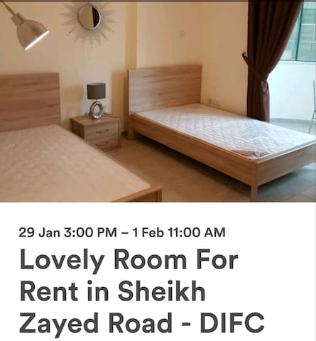 Private room perfect for Arab health exhibition
