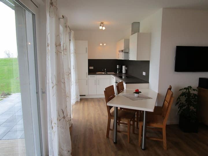 Ferienhof Lang, (Kressbronn a. B.), Ferienwohnung Bodensee, 60-65qm, 2 Schlafzimmer, max. 4 Personen