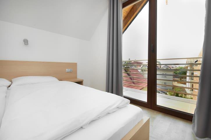 Nowoczesny apartament z balkonem, 50m od morza! 7 - Jastarnia