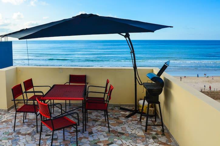 Super appart meublé pour 2 à 4p en bord de mer
