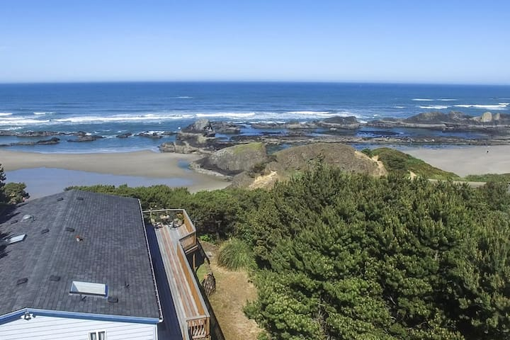 Romantically Private. Secluded. Spa - Seal Rock - Hus