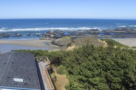 Romantically Private. Secluded. Spa - Seal Rock