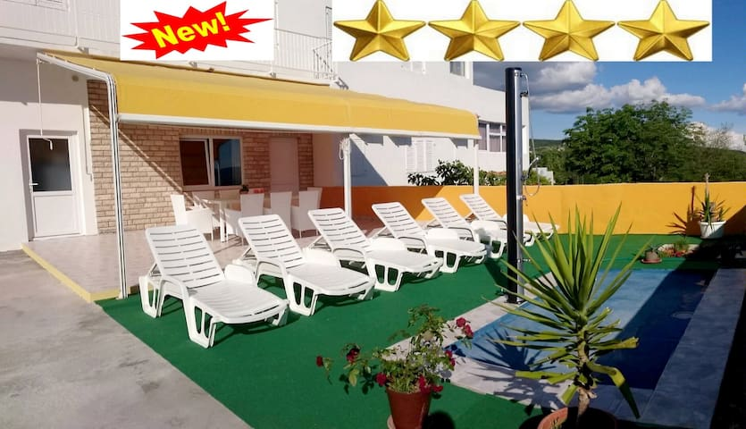 Apartman Andy 4* luxury;140m2 within and 130m2 out