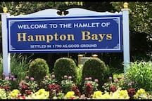 Hampton Bays! Exit 65s on the Sunrise Highway and avoid the worst of the traffic headed out further east!