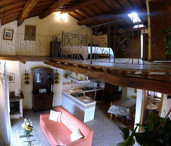 Casale panoramicissimo in Zona Etrusca - Castel Sant'Elia - Casa
