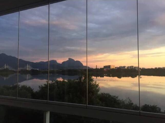 Barra Rio de Janeiro  c vista para Lagoa