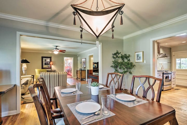 Wine and dine in this well-appointed vacation rental, or hit local hot spots!