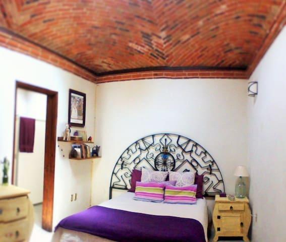 ¡Habitación céntrica estilo mexicano! - Tequisquiapan - Casa