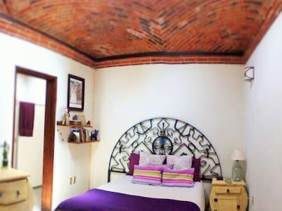 ¡Habitación céntrica estilo mexicano! - 提克斯克潘 (Tequisquiapan)