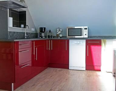 Location appartement de 60 m2 / proche plage - Merville-Franceville-Plage - Lejlighed