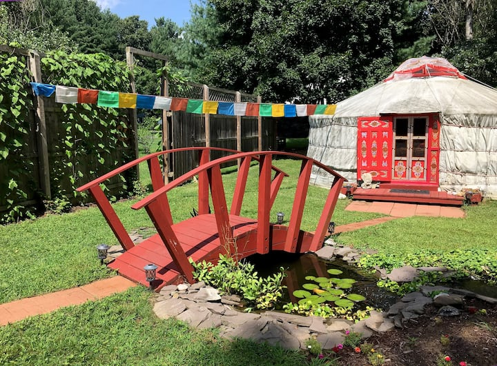 Saratoga Springs Luminous Yurt & Healing Retreat