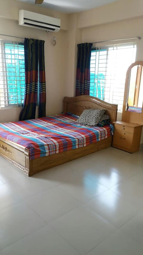 Flat is located in VIP area of Cox's Bazar