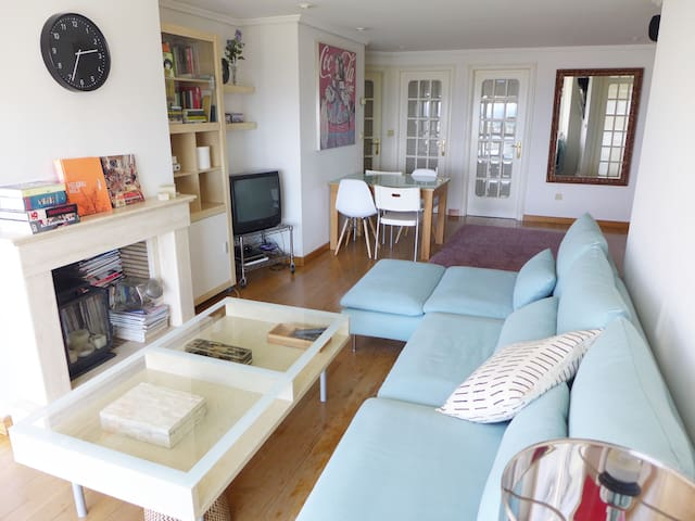 Central flat with sea views - Vilagarcía de Arousa - Apartemen