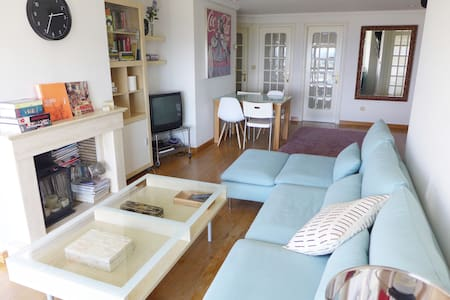 Central flat with sea views - Vilagarcía de Arousa - Lakás