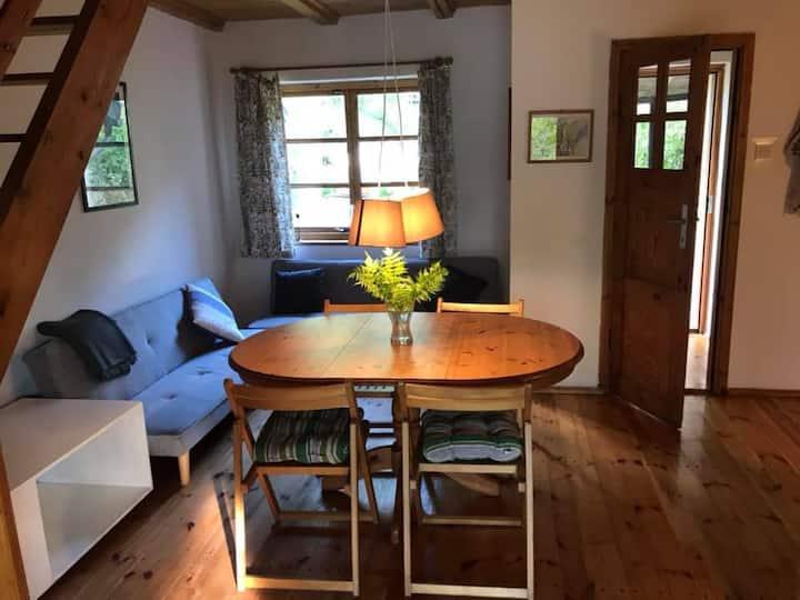 Kameralny apartament na Mazurach dla 4 osób