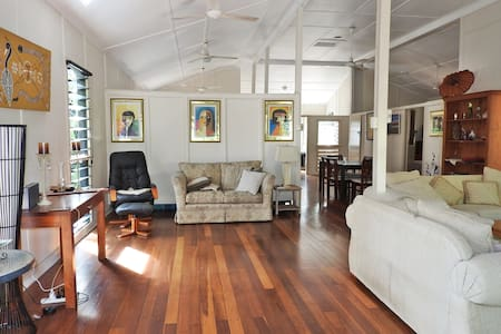 Single room in Darwin Heritage House - walk to CBD - Larrakeyah - Hus