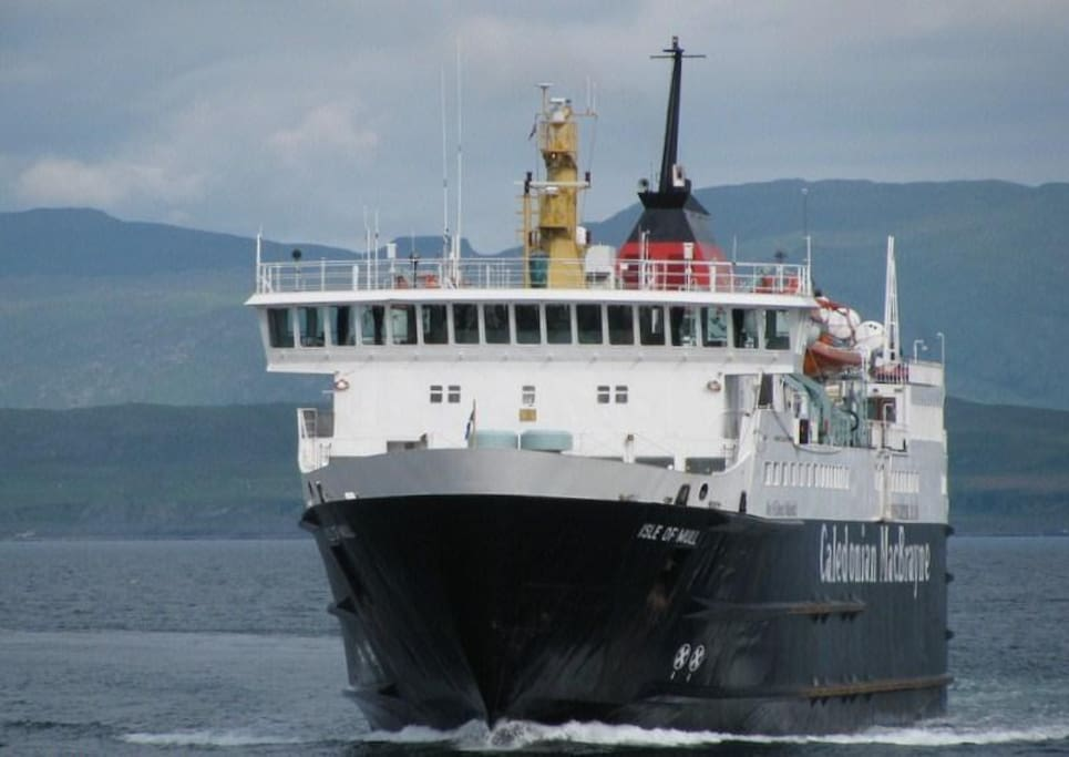 Ferry from Oban. New fare structure (2016) has made this crossing much cheaper