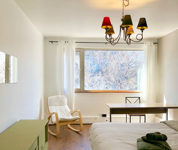 Spacious room, beautiful house & terrace!