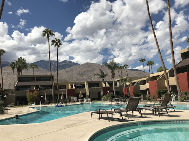 Pool With a View in South Palm Springs