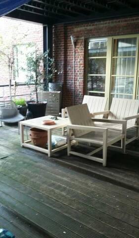 Terrace of my loft Klee