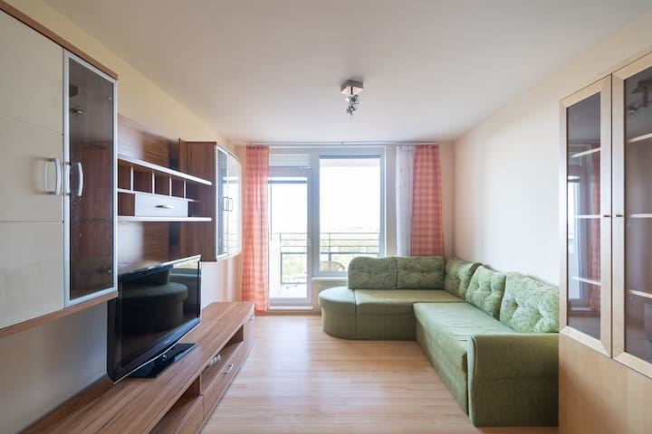 Apartment near ZOO with beautiful view on Prague