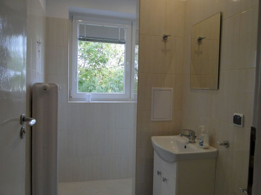 Jasna, wyremontowana łazienka
