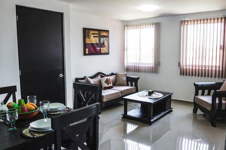 Departamento nuevo en Cholula, a 5 min de la UDLAP - San Andrés Cholula - Appartement
