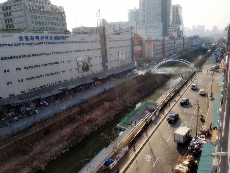 great Dongdaemoon district view!