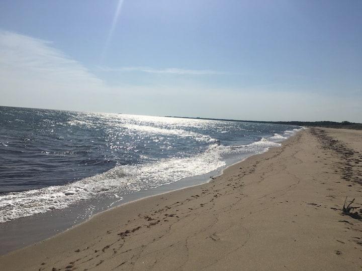 Sommarhus nära stranden, Österlen och golfbana