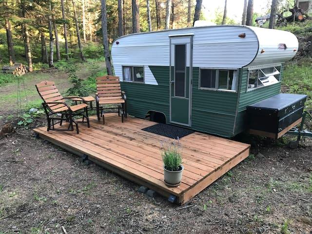 """""""Hawk's Nest"""" Vintage Camper"""