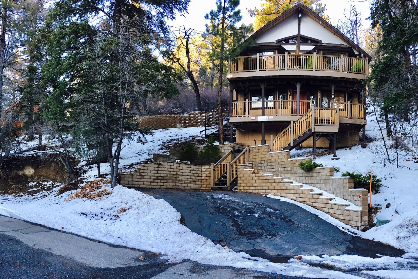 by cabin big lake rentals luxury bear cabins owner in vacation