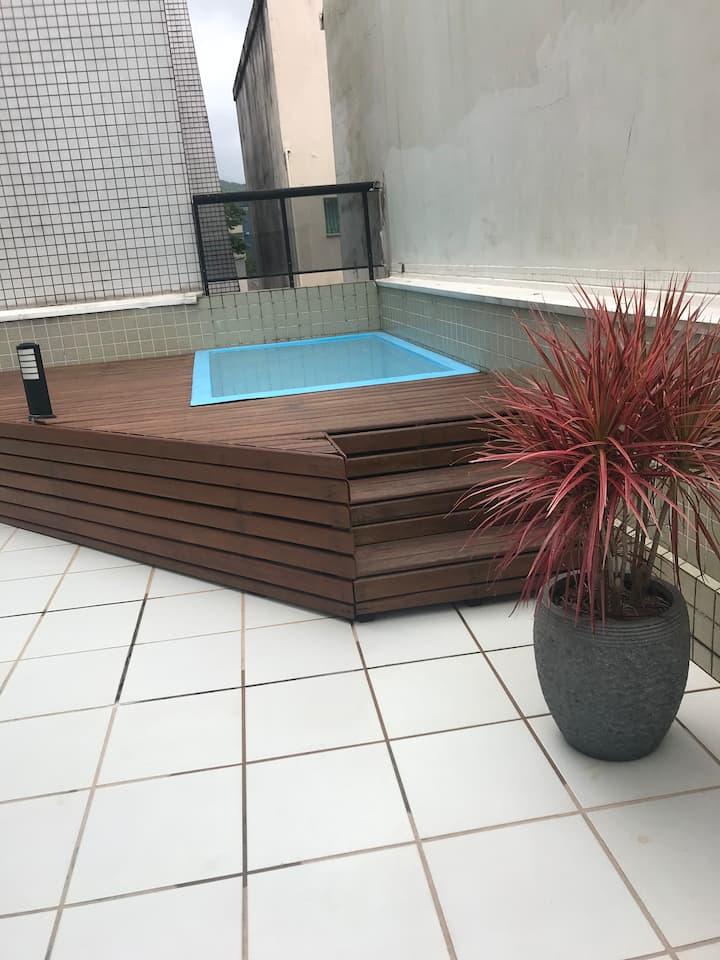 Apartamento Garden em Caiobá com Wi-Fi