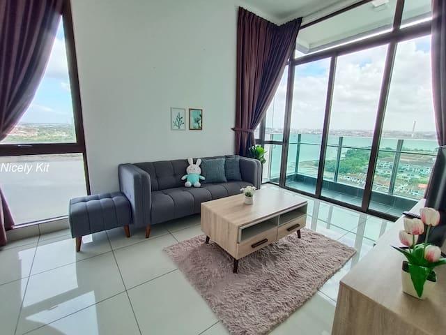 Executive Suite with Sea view Condo2 @ Johor Bahru
