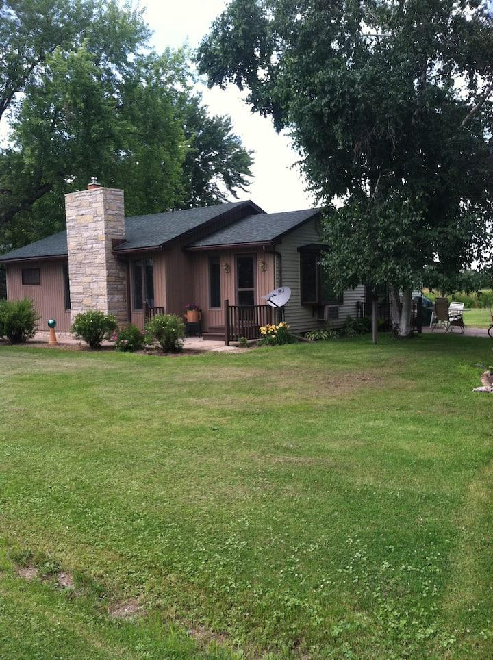 Lake Poygan Wisconsin home on 1.5 acres
