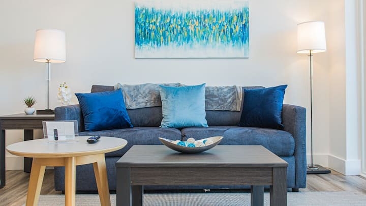 Walk to Virginia Capital Trail from this trendy 1BD