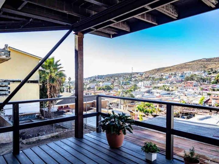 Departamento para 2 personas con balcón