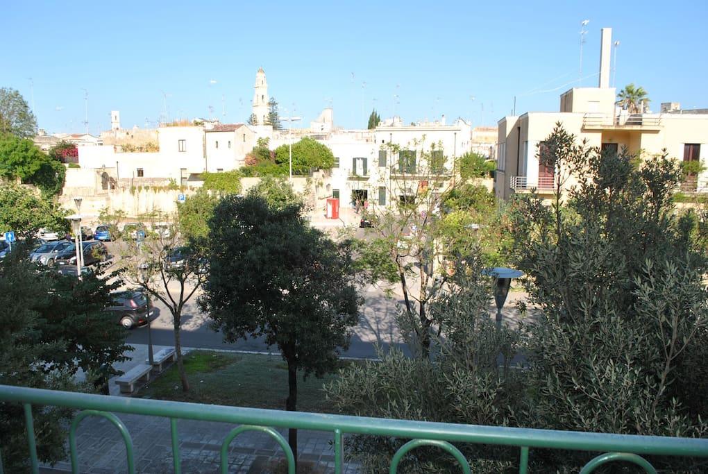 vista panoramica città