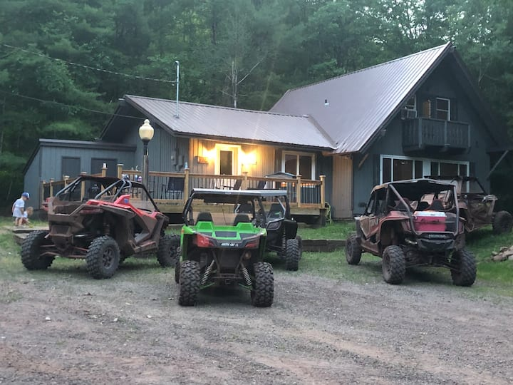 Bessmer Michigan ATV, Hiking & Fishing Cabin