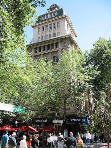 Estudio Pleno centro en Mendoza para 1 persona.
