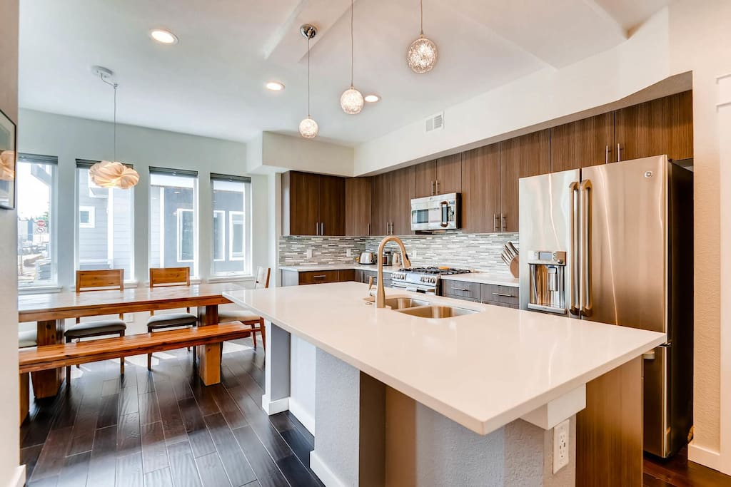 Brand new kitchen and gourmet appliances