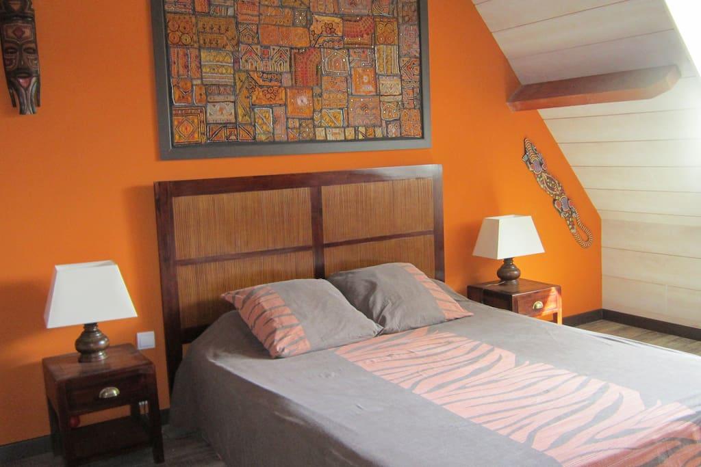 chambres d 39 h tes africa asia et panda avec spa chambres d 39 h tes louer auray bretagne. Black Bedroom Furniture Sets. Home Design Ideas