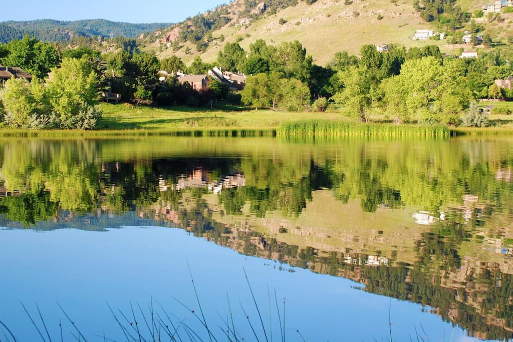 Gorgeous, peaceful northwest Boulder neighborhood tucked up against the foothills and literally minutes to everything Boulder has to offer