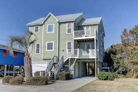 July 4th Front Row Seat! $1200 4/4-4/8 Fireworks! - Surf City - Huis