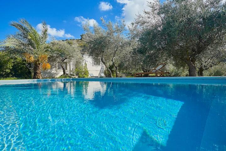 Casale Laghia with pool, Modica