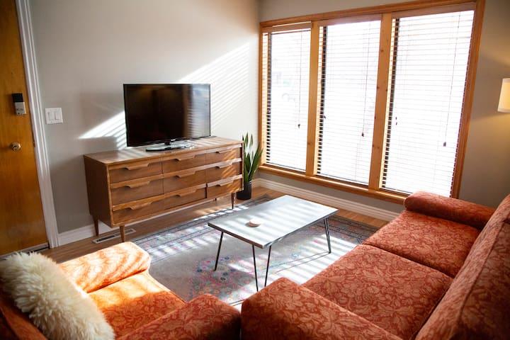 Spacious Two-Bedroom Half House