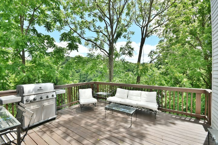 ❤SouthSide House: Parking, Patio, Grill & Fire Pit