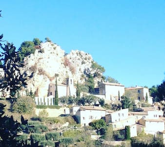 Artist House with a view in Provence - La Roque-Alric - Дом