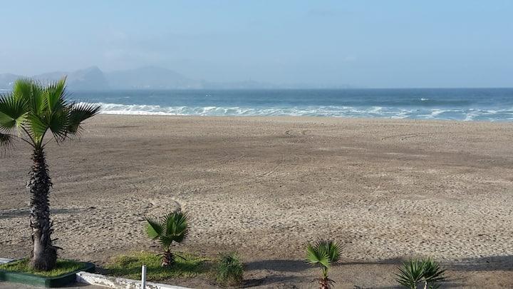 Beautiful House w/Ocean Front in Punta Rocas