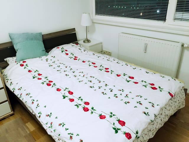 Cozy room near city center/free parking district - Wien - Wohnung