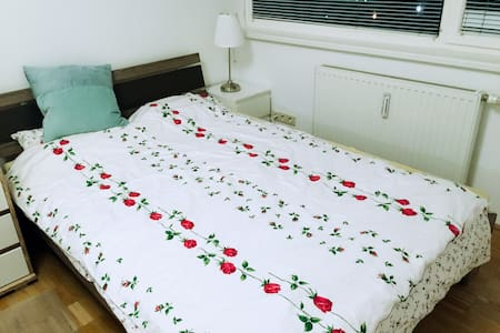 Cozy room near city center/free parking district - Vienna - Departamento